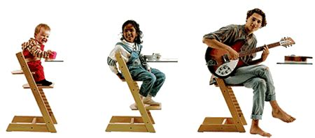 Stokke High Chair by Stokke Tripp Trapp Bildseite Ergonomie Katalog