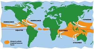 Characteristics And Spatial Distribution Of Hurricanes