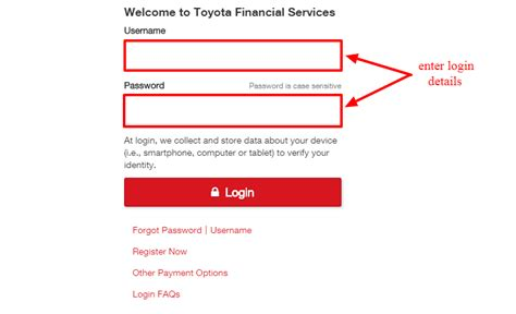 Toyota Financial Payment Login by Www Toyotafinancial My Bill Payment Toyota
