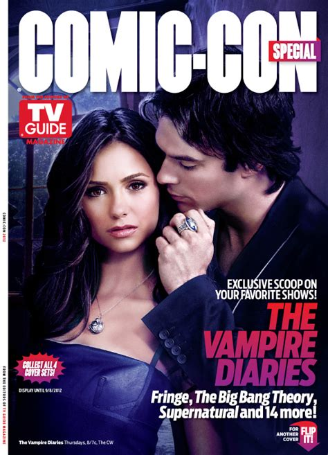 check out the new comic con tv guide covers featuring the