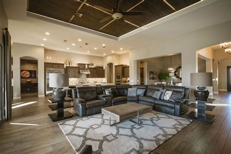 Warm Contemporary Interiors by Gilbert Warm Contemporary Interior Design By Interiors