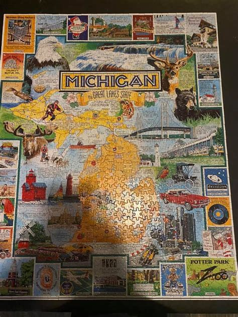 To keep ourselves busy and entertained during Michigan's ...