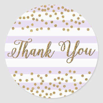 lavender lilac white gold confetti party   classic