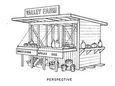 large mobile farmstand google search farmstand