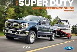 2019 Ford F 350 Quick Reference Guide Free Download Free