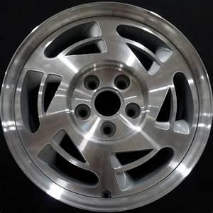 Chevrolet, Corvette, 1990, Oem, Alloy, Wheels