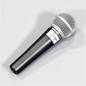 Vocal Microphone For Hire - Shure Sm58