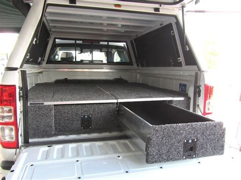 Zambezi Roller Drawer ? Ford Ranger T6 D/Cab ? Big Country 4×4
