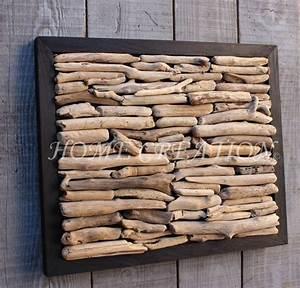 Meuble En Bois Flotté : tableau abstrait moderne en bois flott de catalogne cr ation originale et unique d coration ~ Preciouscoupons.com Idées de Décoration