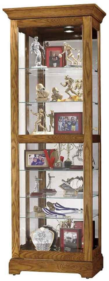 oak curio cabinets for howard miller 680 471 moorland curio cabinet free in