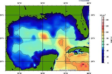 temperature salinity profiles gcoos gulf  mexico