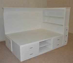 Orlando Platform Bed - Designed and built by Tanglewood Design