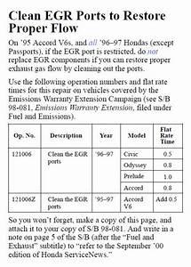 Egr Valve Error Code P0401 - Honda Accord Forum
