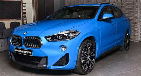 Bmw X2 Sdrive20i M Sport In Misano Blue Looks Sportier