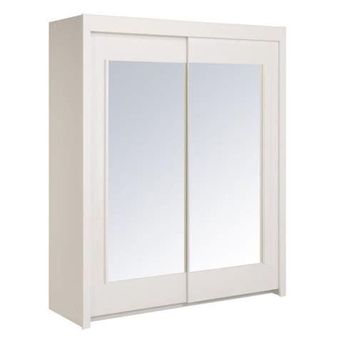 armoire chambre 4 portes essentielle armoire blanche 2 portes 4 étagères achat