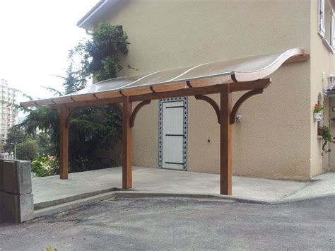 pergola with curved polycarbonate roof landscape ideas