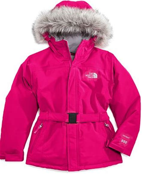 north face kids coat  girls greenland jacket