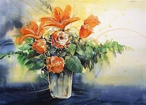 Aquarell Malen Blumen : pin aquarell blumen pfingstrosen on pinterest ~ Articles-book.com Haus und Dekorationen