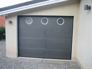 porte de garage basculante manuelle x cm avec porte With porte garage sectionnelle manuelle