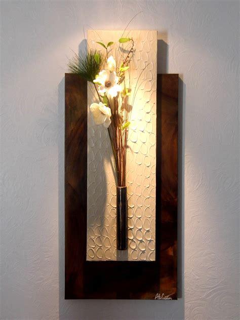 Floral Moderne by Tableau Floral Mural Design Moderne D 233 Corations Murales Par Arte Creation D 233 Co Murale