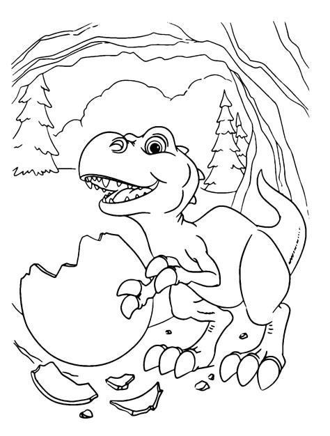 lera glaciale il piccolo   rex appena uscito dalluovo