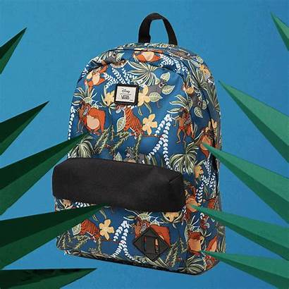 Vans Disney Backpack Jungle Young Heart Authentic