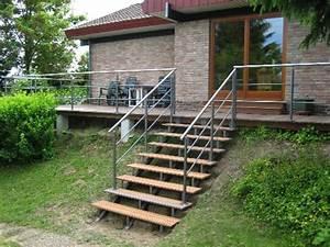 Terrassen Treppen In Den Garten : treppen gel nder metallbau greif aach bei trier ~ Orissabook.com Haus und Dekorationen