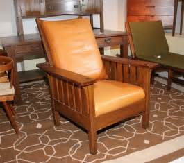 l jg stickley mission reclining morris chair for sale at