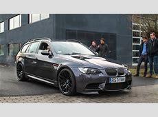 BMW E91 M3 Touring V8 Engine Loud sounds, Revs