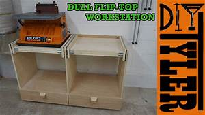 Double Flip-Top Workstation - DIYTyler