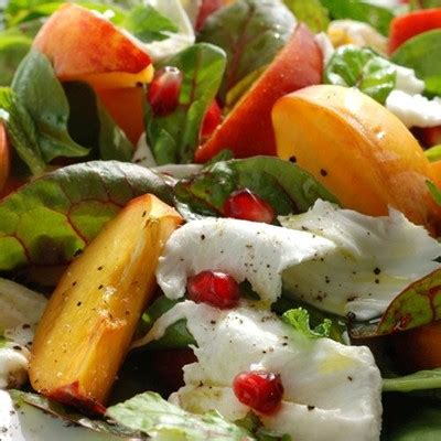cuisiner la salade verte recette salade verte et pêches facile et rapide