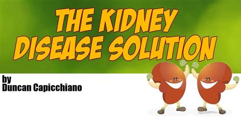 kidney disease solution effective really skin care lu t youtu a