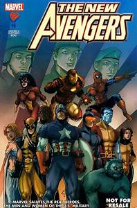 New Avengers American Armed Forces Exclusive 3 Comic