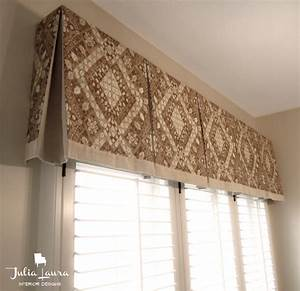 Custom Box Pleat Valance - Traditional - indianapolis - by