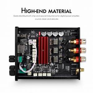 Nobsound Hifi Bluetooth 2 1 Power Amplifier Class D