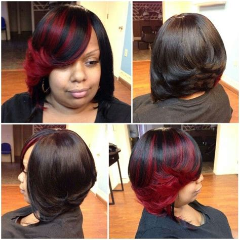 Sew In Hairstyles With No Hair Out by Sewin Bob No Leave Out Shear Rubies Hair Masters