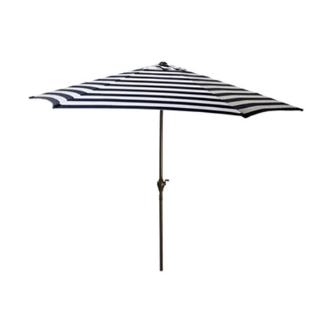 northlight 9 ft white stripe outdoor patio market umbrella