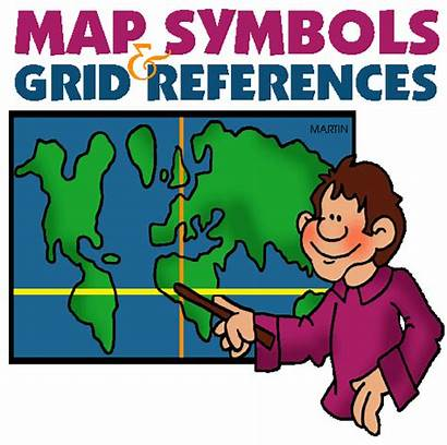 Symbols Geography Map Grade Skills Social Ordnance