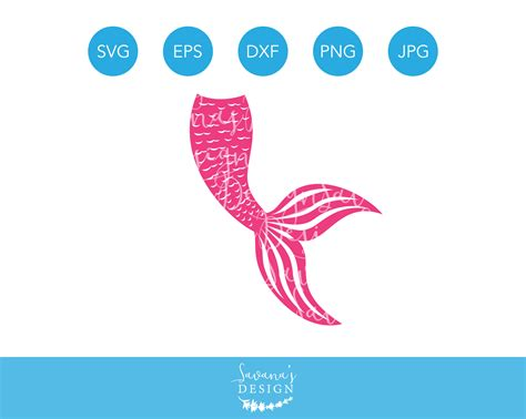 Mermaid Tail Svg, Mermaid Tail Svg File, Svg Mermaid Tail