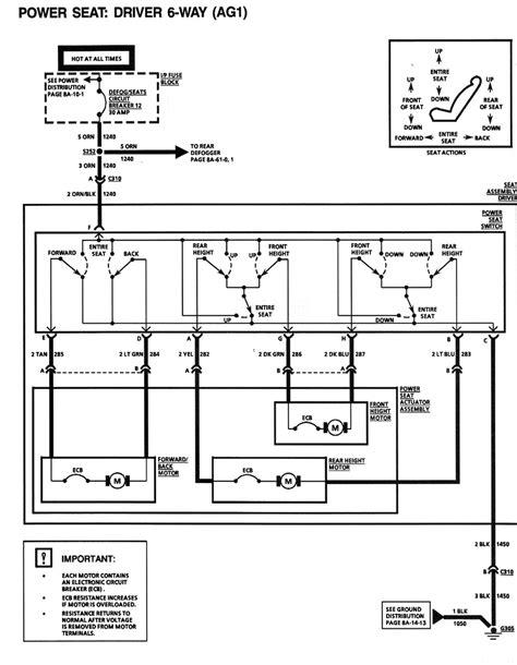 1994 Mustang Power Seat Diagram by Do The Power Seats A Relay Camaro Zone Camaro