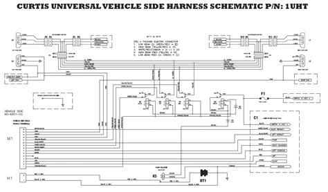 Sno Way Plow Wiring Diagram Schematic