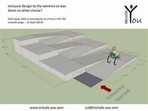 Inclusive Design / Universal Design Wheelchair Ramp Access