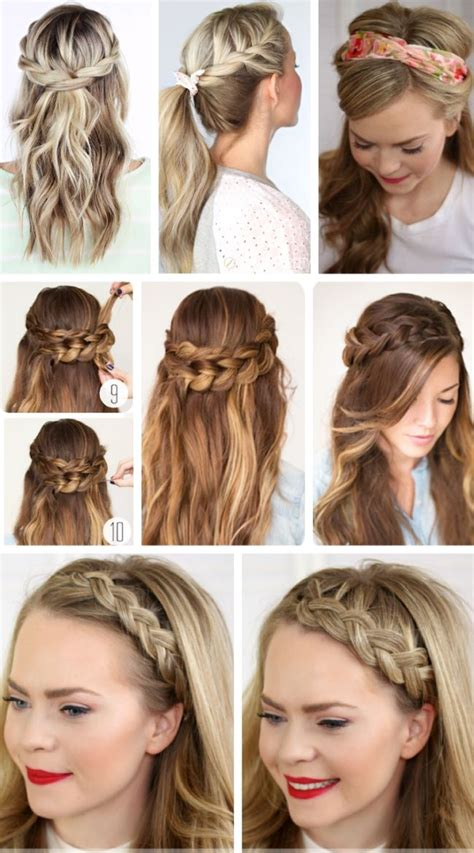 party hairstyles for long hair using step by step easy