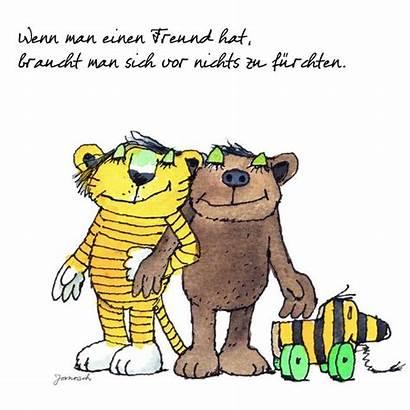 Janosch Zitate Freund Tiger Zu Und Hat