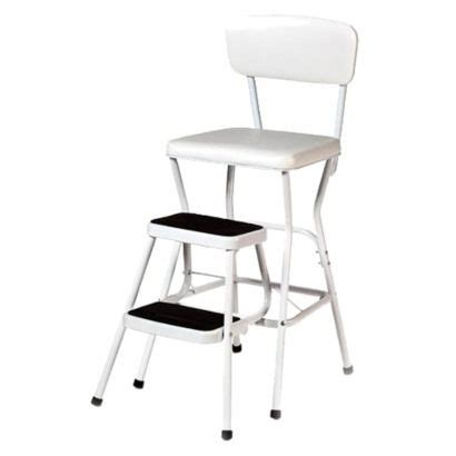 cosco chair with step stool white stools
