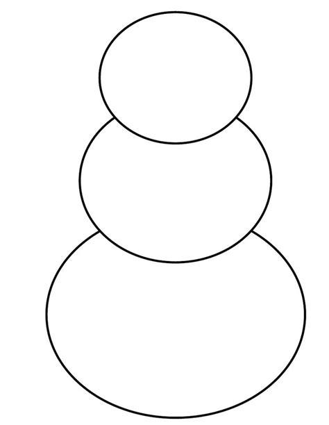 Snowman Template Snowman Template Scribd Teaching Ideas
