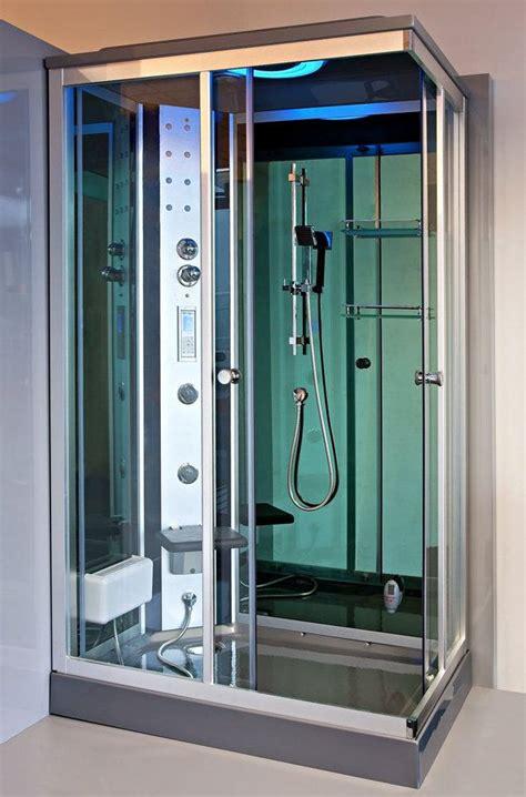 cabina doccia sauna bagno turco box doccia idromassaggio 120x80 reversibile optional