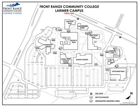 front range community college fort collins co cus map larimer cus