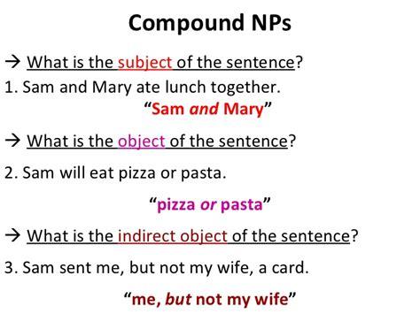 compounds  complex sentences  conclusions