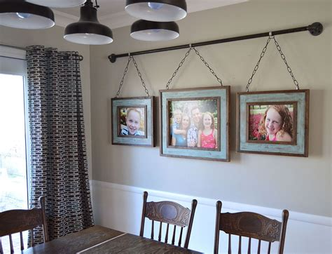 Home Wall Decor Ideas by Hometalk Iron Pipe Family Photo Display
